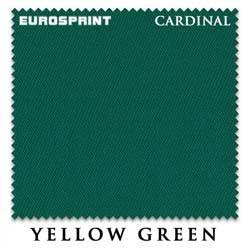 Сукно бильярдное EUROSPRINT Cardinal 2000, 198 см., Yellow Green (Чехия)